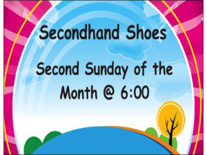 SEcondhand Shoes business card